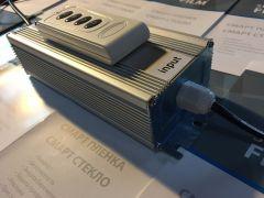 Диммируемый контроллер с пультом управления для смарт пленки