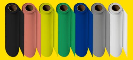 Smart film color range rolls